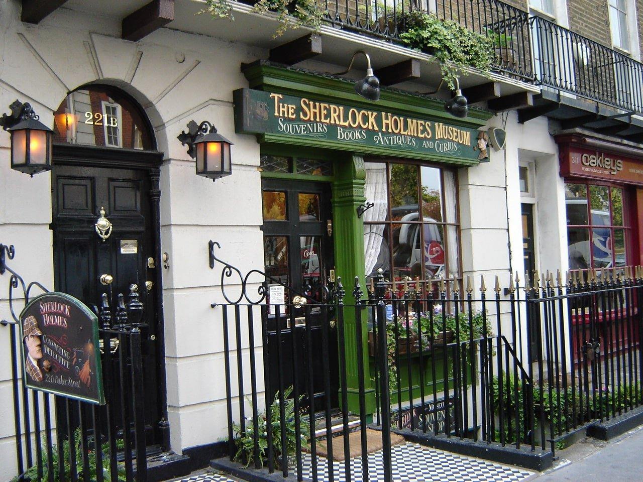 Sherlock Holmes Museum (Музей Шерлока Холмса), Визначні місця Лондона