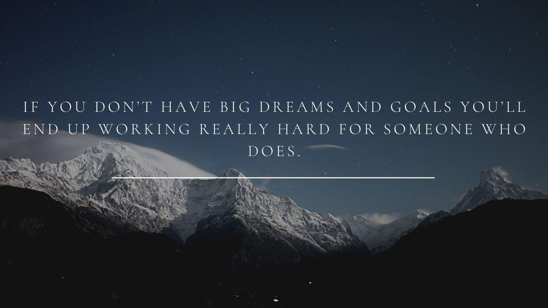 короткі цитати англійською про мрії