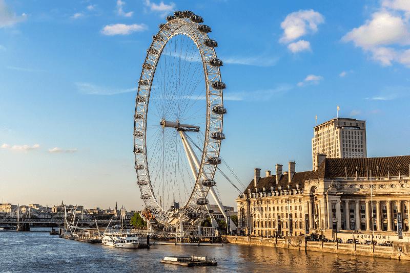 The London Eye (Лондонське Око)? визначні місця Лондона