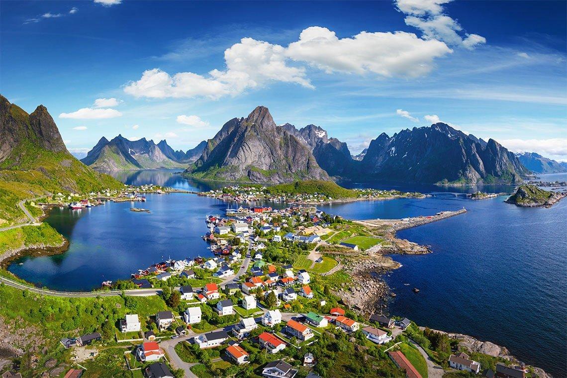 країна Норвегія, подорож до Норвегії
