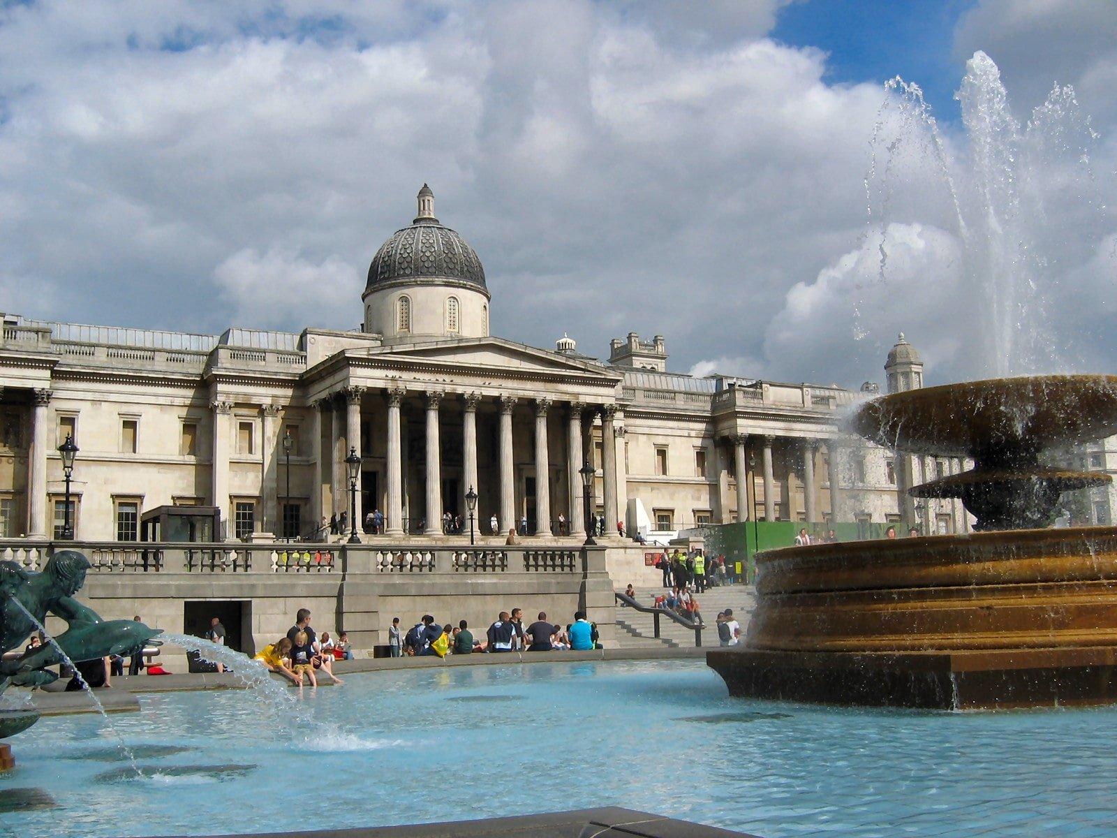 National gallery (Національна галерея), визначні місця Лондона