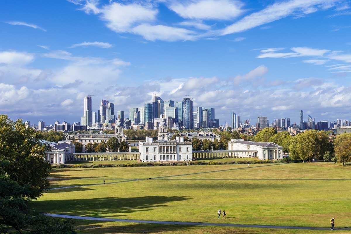 Greenwich (Грінвіч), визначні місяця Лондона